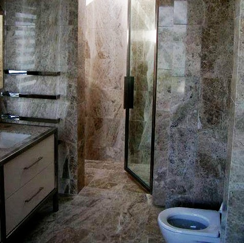 Residential Bathroom - European Stone Masons